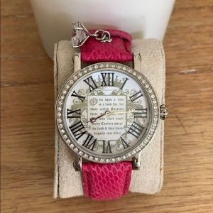 Juicy Couture Hot Pink Watch